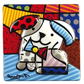 Romero Britto Porcelain Picture - Ginger
