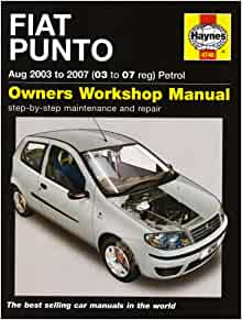 Fiat Punto Petrol (03-07): 5095349365960: Amazon.com: Books