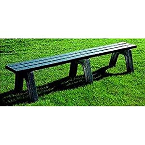 Mall Picnic Bench Size: 4' Long, 2 x 4 Slats, Leg Color: Grey, Slat Color: Cedar