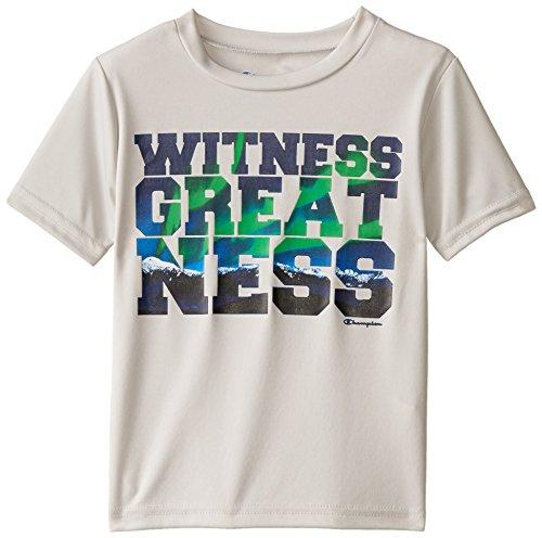 Champion Little Boys' Witness Greatness, Slate Grey, 4