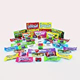 Candyland Variety Pack Candy Mixed Assortment Includes Air Heads, Sour Patch, Laffy Taffy, Jolly Ranchers, Lemon Heads, Swedish Fish, Mike and Ike, Trident Gum & Many More!! Includes Our Exclusive Custom Varietea Mints Bulk Sampler of 45 Small Fun Size Pieces