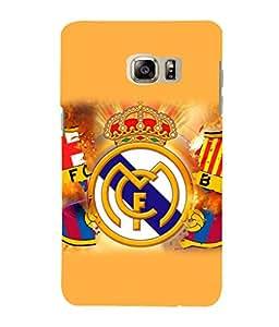 printtech FC Football Team Back Case Cover for Samsung Galaxy Note 5 Edge::Samsung Galaxy Note 5 Edge 2