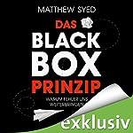 Das Black-Box-Prinzip: Warum Fehler uns weiterbringen | Matthew Syed