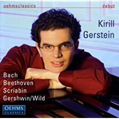 Piano Recital: Gerstein, Kirill - Bach, J.S. / Beethoven, L. Van / Scriabin, A. / Wild, E.