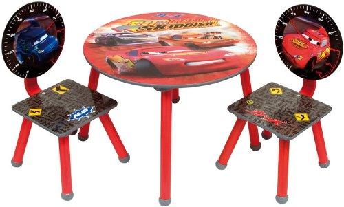 frunty cars si ge enfant groupe table 2 chaises de bois disney holz meubles pour enfants. Black Bedroom Furniture Sets. Home Design Ideas