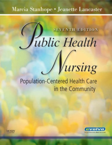 Public Health Nursing: Population-Centered Health Care in...