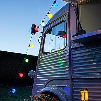 Guirlande lumineuse guinguette avec 30 boules led - Guirlande lumineuse guinguette exterieur ...