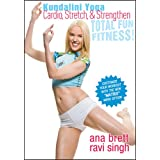 Kundalini Yoga Cardio, Stretch, & Strengthen - ALL LEVELS - Ana Brett and Ravi Singh ~ Ana Brett and Ravi Singh