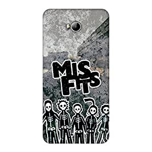 GripIt Misfits Case for Micromax Canvas Spark 3 (Q385)