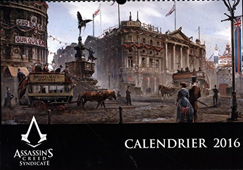 Calendrier Assassin's Creed 2016