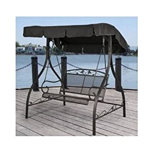 Amazon Com Outdoor Porch Swing Deck Furniture With