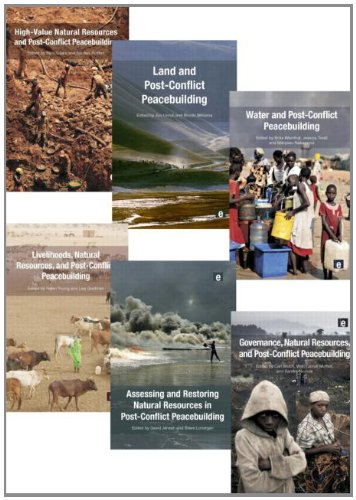 Six volume set: Post-Conflict Peacebuilding and Natural Resource Management