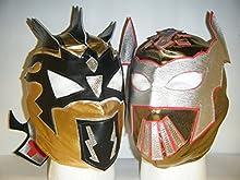 Gold-sin cara & Kalisto para Niños con cremallera Máscaras