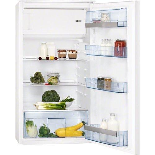 AEG SANTO SKS51040S0 Einbau-Kühlschrank / A+ / Kühlen: 152 L / Gefrieren: 17 L / weiß / Schlepptürtechnik / mit Gefrierfach