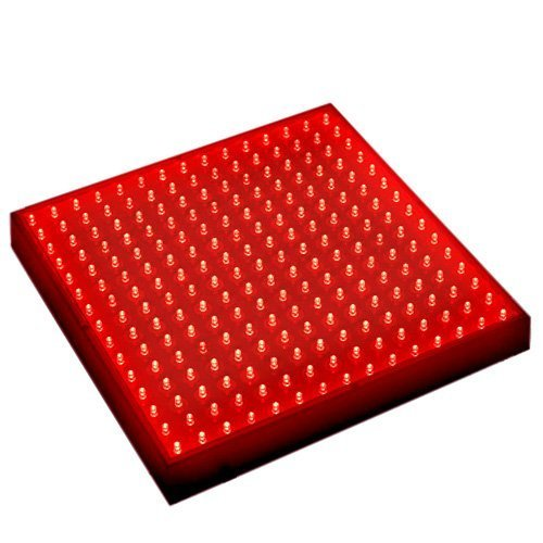 Hqrp 13.8W 225 Led Red Spectrum Hydroponic Plant Grow Light Panel / Lamp + Uv Meter