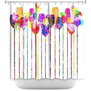 Amazon.com - DiaNoche Designs Shower Curtains Stylish ...