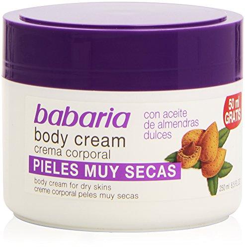 BABARIA - BODY CREAM aceite almendras 250 ml-unisex
