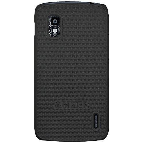Review Of Amzer AMZ95266 Hard Shell Snap-On Slim Fit Case Cover for Google Nexus 4 E960/LG Nexus 4 E...