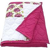 Ragged Rose 215 x 245 cm Cotton Aida Bed Spread, Pink