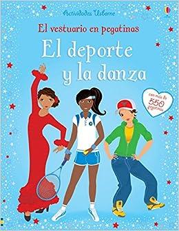 Deporte y la danza, El. El vestuario en pegatinas (Spanish) Paperback