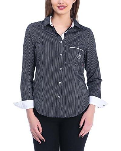 SIR RAYMOND TAILOR Camisa Mujer Draw Negro