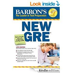 Pdf 19th barrons gre edition