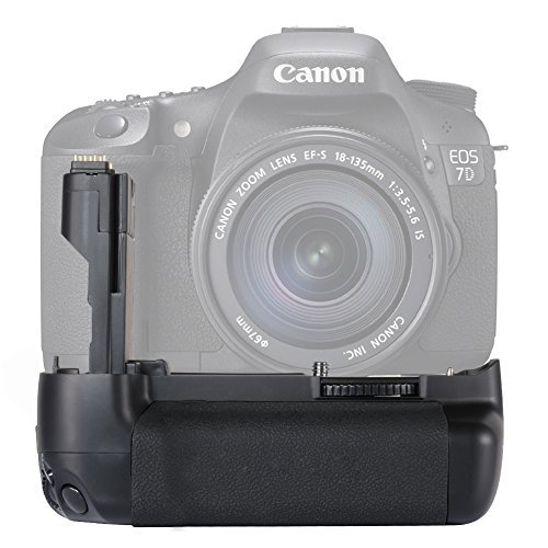 Neewer Replacement Battery Grip for BG-E7 for Canon 7D SLR Camera Compatible with LP-E6 Batteries (Battery Canon 7d compare prices)