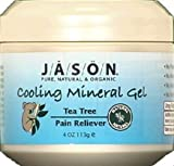 Jason Tea Tree Oil Therapeutic Mineral Gel, 4-Ounce Jars (Pack of 3) by Jason Natural Cosmetics