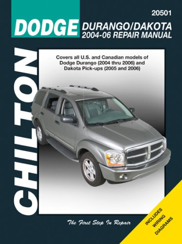 chiltons-dodge-durango-dakota-2004-06-repair-manual
