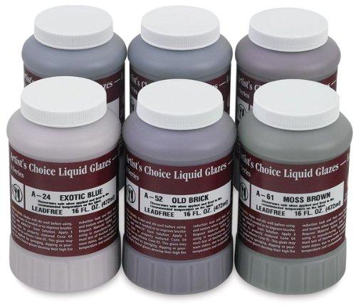 amaco-artists-choice-lead-free-glaze-class-pack-set-no-2-1-pt-set-of-6