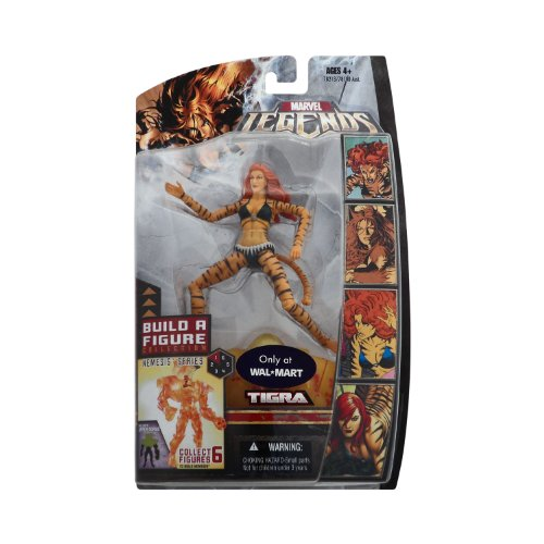 Marvel Legends Exclusive Nemesis Build-A-Figure Wave Action Figure Tigra (Marvel Legends Nemesis Series compare prices)