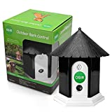 OSIR Outdoor Ultrasonic Bark Control for dogs with birdhouse theme [Battery Operated]