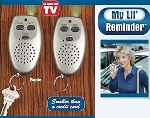My Lil' Reminder Personal Digital Voice Recorder-Regular-Set of 2