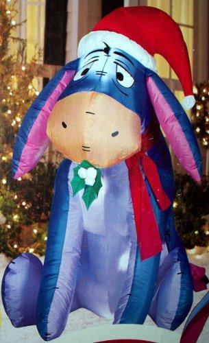 best buy winnie the pooh eeyore 3 ft christmas airblown inflatable