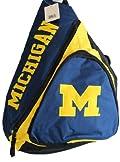 NCAA Michigan Wolverines Sling Bag Backpack Navy