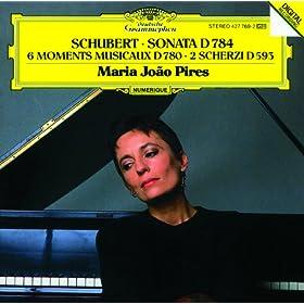 Schubert: Sonata D784; 6 Moments Musicaux D780; 2 Scherzi D593