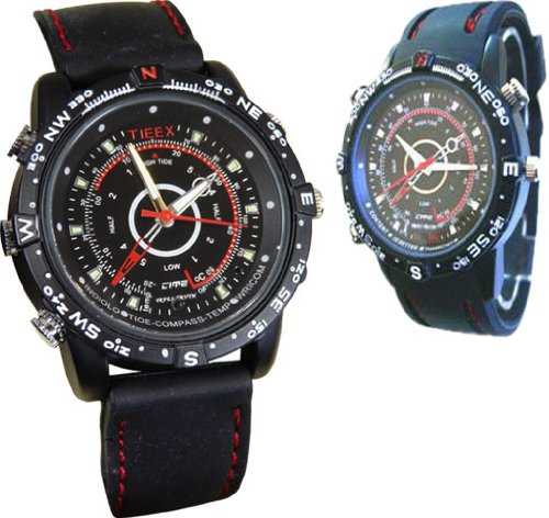 Spy Watch with Hidden Camera and Microphone Video Recorder USB 2GB