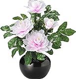 松山神仏具店 盆提灯(ちょうちん) グランドルミナス 牡丹 贈り物にも最適 LED電飾が華やかな常花