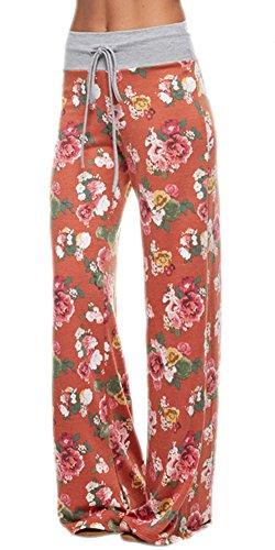 Marilyn-Main-Womens-Comfy-Soft-Stretch-Floral-Polka-Dot-Pajama-Pants