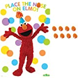 Amscan 220714 Sesame Street Elmo Party - Party Game