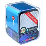 Portable Rechargeable Bluetooth Speaker , Wireless Speaker for iPhone, iPad, iPod, Samsung, Mobile Phones, Tablets PC, Laptops, Ultrabook & more devices(with microphone) (Blue)by Betron