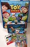 Gift Set Toy Story New World Adventure Lunchbox Tote Bag Crayons Notepad Playing Cards Stickers 6pc Bundle