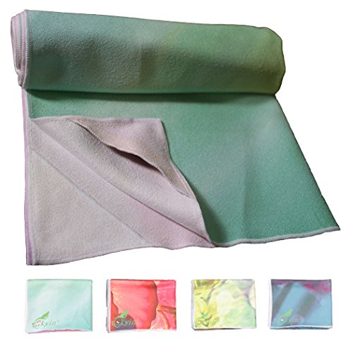 Yoga Towel By SKYIN?,Exclusive Pockets Cover Each Corner