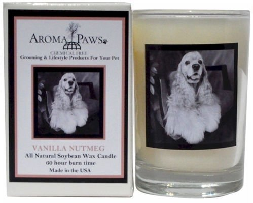 Aroma Paws 340 Breed Candle 5 Oz. Glass-Gift Box - Cocker Spaniel