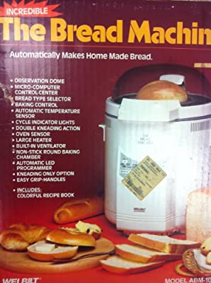Welbilt ABM-100-4 Bread Machine w/ Stage Indicators