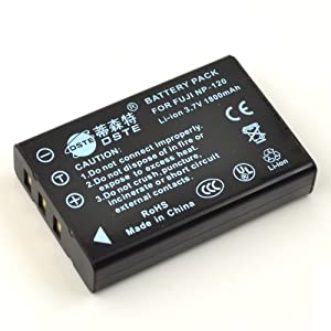 DSTE Full Coded 3.7V 1800mAh NP-120 NP120 Li-ion Battery for FUJI FinePix 603 M603 M603 F10 F10 F11 F11 Zoom
