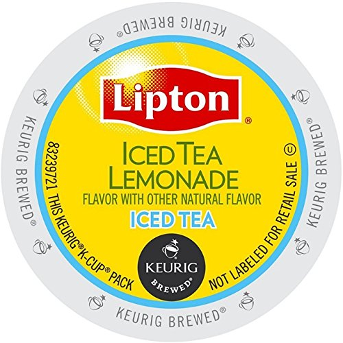 Best Prices! Lipton Iced Tea Lemonade Keurig K-Cups, 22 Count (Pack of 4)