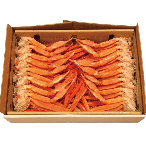 稚内産紅ズワイガニ切足どっさり2kg食べ放題山盛りセット -