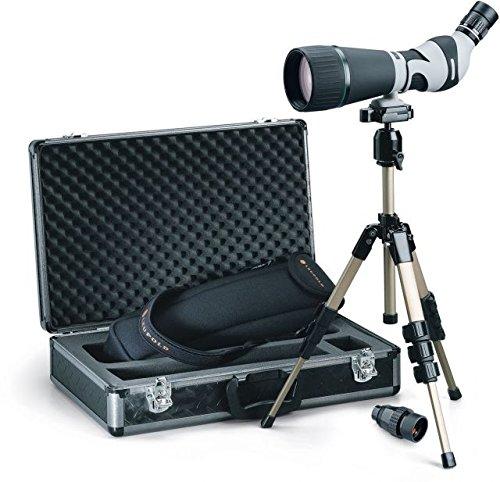 Leupold Kenai HD Angled Spotting Scope Kit, Gray/Black, 25-60 x 80mm