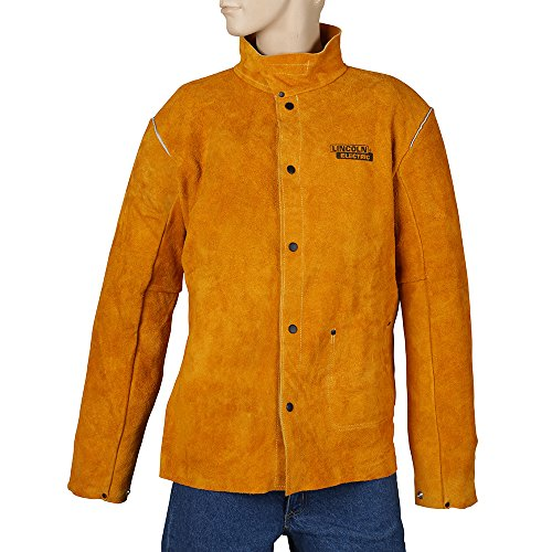 Lincoln-Electric-Brown-XX-Large-Flame-Resistant-Heavy-Duty-Leather-Welding-Jacket